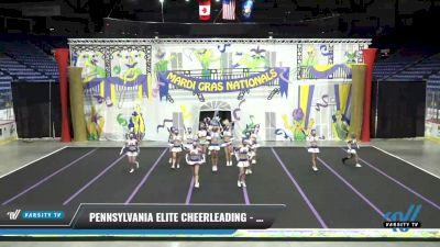 Pennsylvania Elite Cheerleading - Guardians [2021 L6 Senior - XSmall] 2021 MG Bead Blast