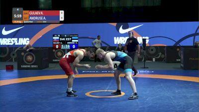 79 kg Quarterfinal - Akhsarbek Gulaev, SVK vs Aimar Andruse, EST