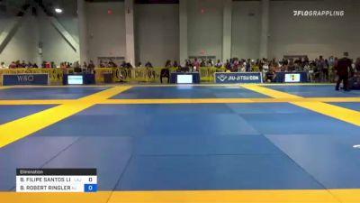 BRUNO FILIPE SANTOS LIMA vs BRADLEY ROBERT RINGLER 2021 American National IBJJF Jiu-Jitsu Championship