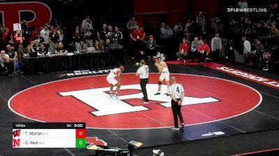 141 lbs 3rd Place - Tristan Moran, Wisconsin vs Chad Red, Nebraska