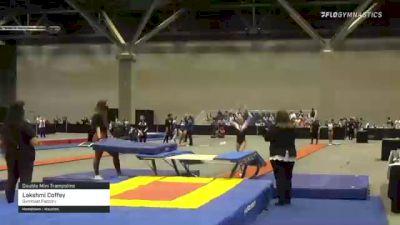 Lakshmi Coffey - Double Mini Trampoline, Gymnast Factory - 2021 USA Gymnastics Championships