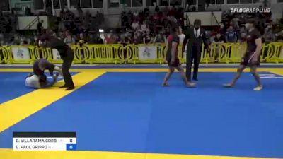 DEANDRE VILLARAMA CORBE vs GIANNI PAUL GRIPPO 2021 Pan IBJJF Jiu-Jitsu No-Gi Championship