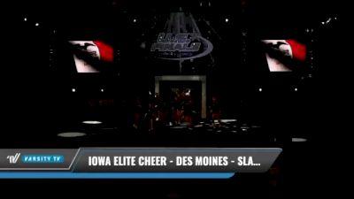 Iowa Elite Cheer - Des Moines - Slashers [2021 L1 Junior Day 1] 2021 The U.S. Finals: Kansas City