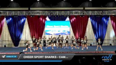 Cheer Sport Sharks - Cambridge - White Cheek Sharks [2020 L3 Youth - Medium Day 2] 2020 The American Majestic DI & DII