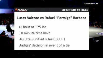 Lucas Valente vs Rafael Barbosa Kasai Super Series 1