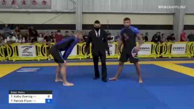 Tristan Kolby Overvig vs Travis Patrick Flynn 2021 Pan IBJJF Jiu-Jitsu No-Gi Championship