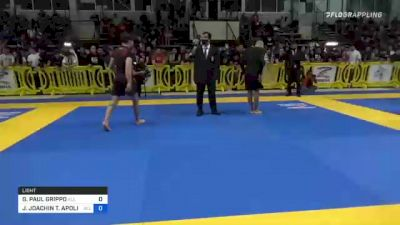 GIANNI PAUL GRIPPO vs JOHNNY JOACHIN T. APOLINARIO 2021 Pan IBJJF Jiu-Jitsu No-Gi Championship
