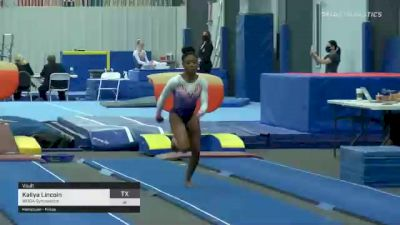 Kaliya Lincoln - Vault, WOGA Gymnastics - 2021 American Classic and Hopes Classic