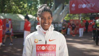 Dagitu Azimeraw Runs A Big PR For 2nd Place
