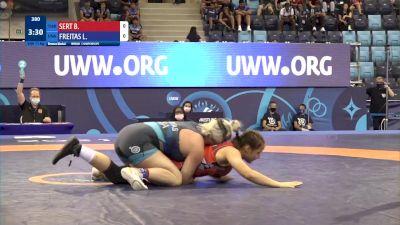 73 kg Final 3-5 - Bukrenaz Sert, Turkey vs Lillian Alene Freitas, United States