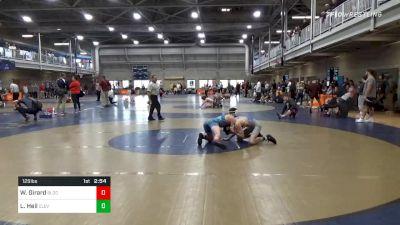Quarterfinal - Willy Girard, Bloomsburg-Unattached vs Logan Heil, Cleveland State-Unattached