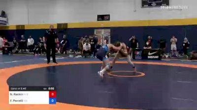 57 kg Consi Of 8 #2 - Nathan Rankin, River Valley Wrestling Club vs Frank Perrelli, Titan Mercury Wrestling Club (TMWC)