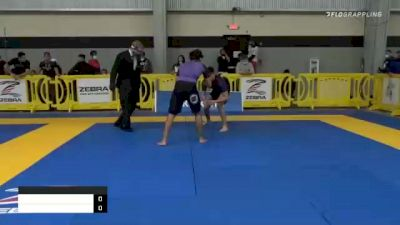 ANTHONY CHRISTOPHER ORTIZ vs CORBAN ANDRES SAINZ 2020 American National IBJJF Jiu-Jitsu Championship