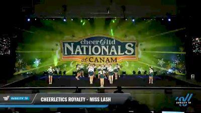 Cheerletics Royalty - MISS LASH [2021 L4 International Open Day 2] 2021 Cheer Ltd Nationals at CANAM