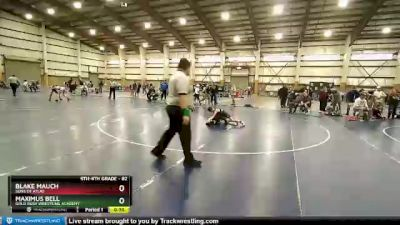82 lbs 5th Place Match - Maximus Bell, Gold Rush Wrestling Academy vs Blake Mauch, Sons Of Atlas