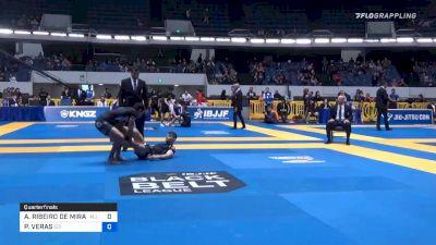 ATHOS RIBEIRO DE MIRANDA vs PEDRO VERAS 2019 World IBJJF Jiu-Jitsu No-Gi Championship