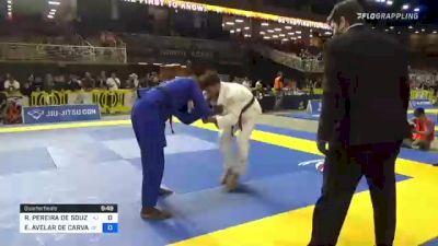 RONALDO PEREIRA DE SOUZA JÚNIOR vs EDUARDO AVELAR DE CARVALHO 2021 Pan Jiu-Jitsu IBJJF Championship
