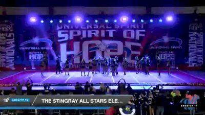 The Stingray Allstars - Marietta - Electric [2021 Senior Small Coed Open 6 Day 1] 2021 Universal Spirit: Spirit of Hope National Championship