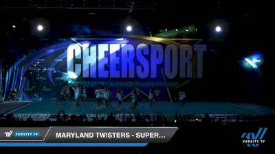 Maryland Twisters - Supercells [2020 Junior 6 Day 1] 2020 CHEERSPORT National Cheerleading Championship