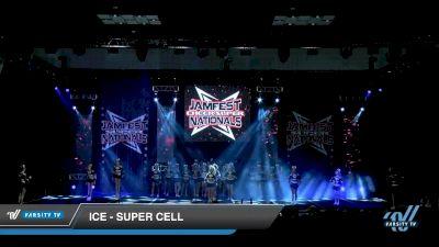 ICE - Super Cell [2020 L3 Senior - Medium - A Day 2] 2020 JAMfest Cheer Super Nationals