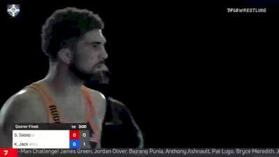 65 kg Quarterfinal - Sammy Sasso, Ohio RTC vs Kevin Jack, Wolfpack RTC