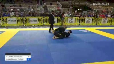SETH JAVAD VILLEGAS vs SEIYA MARSHALL THOMPSON 2021 Pan Kids Jiu-Jitsu IBJJF Championship