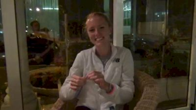 Elizabeth Maloy big PR 15:15.34 and 1st in 5k at Lignano 2011