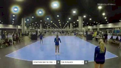VENETIAN BAY 15-1 RADIANT vs TVA 15 BLACK - 2021 Mizuno Big South National Qualifier (Courts 1-80)