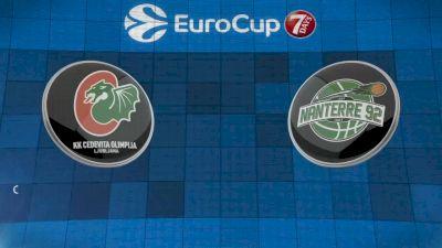 REPLAY: KK Cedevita Olimpija vs Nanterre 92