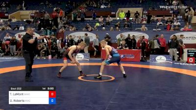 60 kg Consolation - Taylor LaMont, Sunkist Kids Wrestling Club vs Dalton Roberts, New York Athletic Club