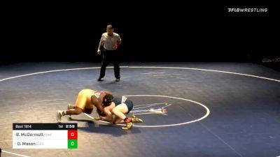 285 lbs Final - Boone McDermott, Iowa Central vs Darrell Mason, Ellsworth