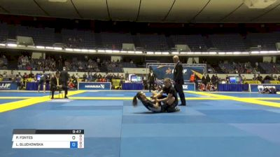 PATRICIA FONTES vs LIWIA GLUCHOWSKA World IBJJF Jiu-Jitsu No-Gi Championships