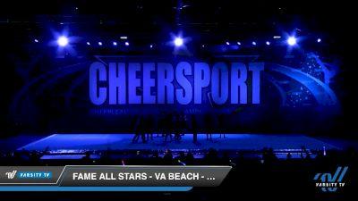 FAME All Stars - VA Beach - CULTURE [2020 Senior Coed Small 5 Day 2] 2020 CHEERSPORT National Cheerleading Championship