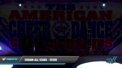 Fusion All Stars - FEVER [2021 L2 Youth - Small Day 1] 2021 The American Celebration DI & DII