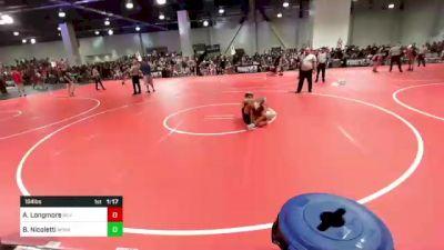 184 lbs Rr Rnd 2 - Andrew Longmore, Silverback WC vs Bruno Nicoletti, Winner