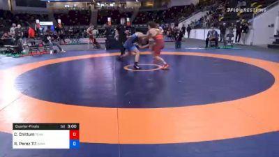 67 kg Quarterfinal - Cody Chittum, Tennessee vs Robert Perez 111, Sunkids Wrestling Club