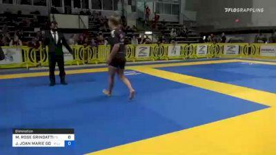 MARGARET ROSE GRINDATTI vs JUDITH JOAN MARIE GOMES 2021 Pan IBJJF Jiu-Jitsu No-Gi Championship
