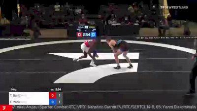 74 kg Rr Rnd 3 - Thomas Gantt, Wolfpack RTC vs Evan Wick, Gopher WC