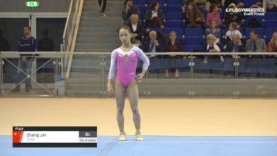 Zhang Jin - Floor, China - 2019 City of Jesolo Trophy