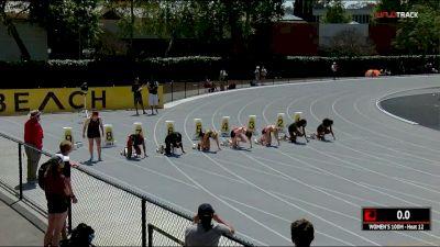 Women's 100m, Heat 12