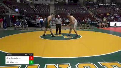 285 lbs 5th Place - Rocco John-Daniello, Reynolds vs Mitch Miles, Laurel