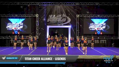 Titan Cheer Alliance - Legends [2021 L4 Performance Recreation - 8-18 Years Old (NON) - Large Day 1] 2021 The U.S. Finals: Ocean City