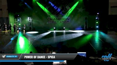 Power of Dance - Spica [2021 Youth Coed - Pom Day 3] 2021 CSG Dance Nationals