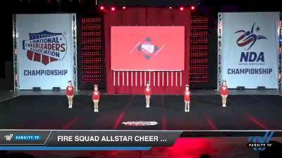 - Fire Squad Allstar Cheer Sizzle [2019 Mini - Novice 1 Day 1] 2019 NCA North Texas Classic
