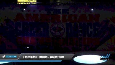 Las Vegas Elements - Windstorm [2021 L2 Junior - D2 - Small Day 1] 2021 The American Celebration DI & DII