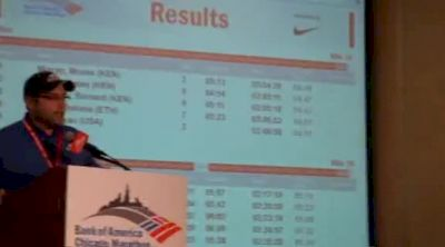 Chicago Marathon medical director talks about death on the course in 2011