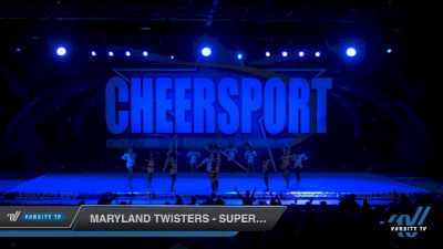 Maryland Twisters - Supercells [2020 Junior 6 Day 2] 2020 CHEERSPORT National Cheerleading Championship