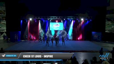 Cheer St Louis - Inspire [2021 L3 Senior Day 2] 2021 The American Gateway DI & DII