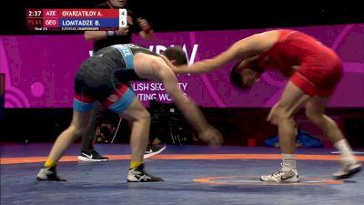 Bronze 61kg - Akhmednabi Gvarzatilov (AZE) vs Beka Lomtadze (GEO)