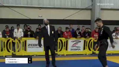 Joshua Cisneros vs Isaac Doederlein 2020 American National IBJJF Jiu-Jitsu Championship